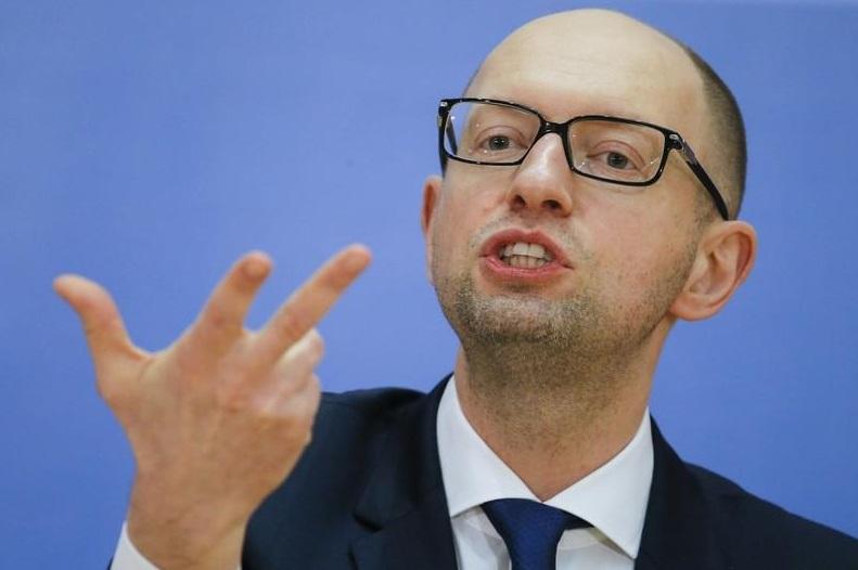 Украина несобирается возвращать Российской Федерации три млрд долларов— Яценюк