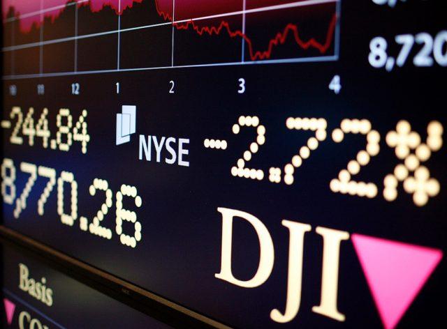 Нафондовой бирже США произошел крупнейший обвал за119 лет