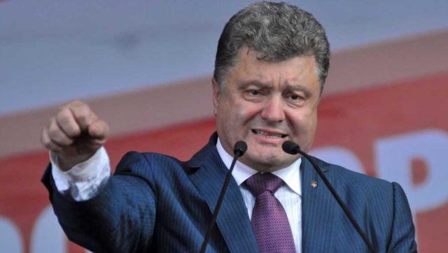 Порошенко: Вобороне Украина должна опираться сама насебя