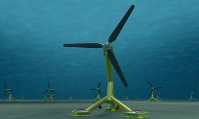 Япония хочет вырабатывать электричество с помощью силы морского течения