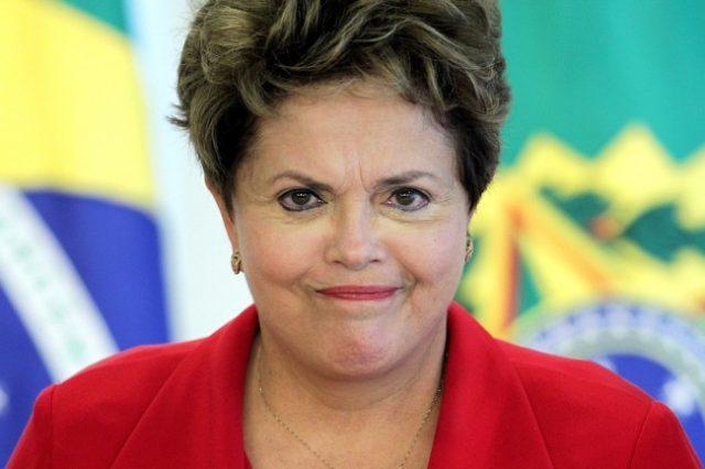 Отстраненная отвласти президент Бразилии Дилма Руссефф