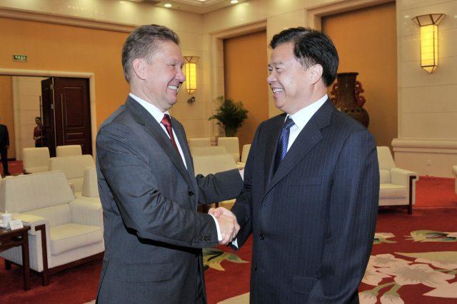 «Газпром» икитайская CNPC подписали тридцатилетний договор настроительство «Силы Сибири»