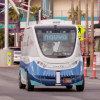 В Лас-Вегасе вышел на маршрут первый в США беспилотный электробус