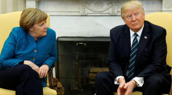Из-за чего именно разругались Дональд Трамп и Ангела Меркель