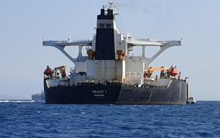 Иранский танкер Grace 1, покидая Гибралтар, сменил имя