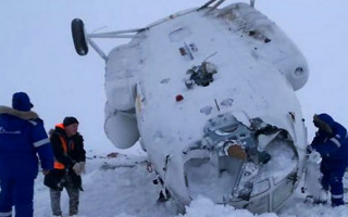 Рассматриваются три версии крушения Ми-8 под Сабеттой