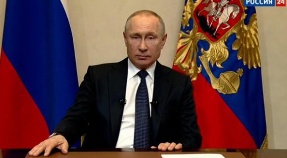 Путин: Карантин продляется до конца апреля