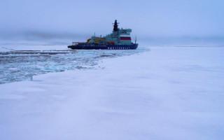 """Ледовые испытания ледокола """"Арктика"""" фактически сорвались"""