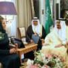 Матвиенко вышила «дипломатические узоры» в Саудовской Аравии