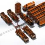 Первый мобильный комплекс для проведения гидравлического разрыва пласта (ГРП) российского производства.