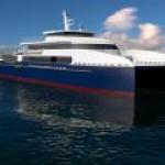 Incat построит быстроходное вахтовое судно для каспийских проектов Азербайджана.