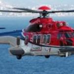 Четверо погибших в крушении вертолёта, зафрахтованного Total для обслуживания нефтяных платформ в Северном море.