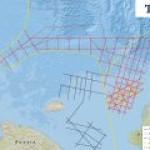 TGS начинает много-пользовательский 2D обзор территории Чукотского моря.