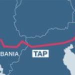 TAP начинает процесс получения сервитутов для прокладки 870 км газопровода в Албании, Греции и Италии.