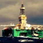 Новая глубоководная скважина «ЛУКОЙЛа» в Западной Африке.