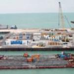 Добыча нефти на Кашагане в казахском секторе шельфа Каспия приостановлена