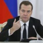 Медведев озвучил условия транзита российского газа через Украину