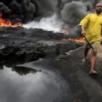 Добыча в Нигерии упала до 30-летнего минимума из-за расплодившихся террористов