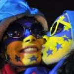 Украина: страстный поцелуй Запада