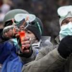Украина: рогатка на Грушевского, Шульц – в Европарламенте