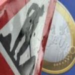 Евро скидывают по всему рынку