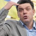 Тягнибок убежден, что Украина «возвращается»  в Европу