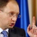 Яценюк: Россия не сделала ни одного шага для урегулирования газового спора