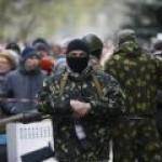 На подступах к Славянску идет серьезный бой