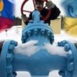 Третья газовая война между Россией и Украиной началась