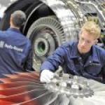 Siemens приобретает подразделение Rolls-Royce по производству газотурбинных установок