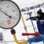"""""""Газпром"""" увеличивает объемы транзита газа через Украину"""