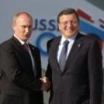 Путин и Баррозу договорились встретиться, чтобы обсудить вопросы по газу и Украину в целом