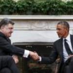 Порошенко и Обама договорились надавить на Путина на форуме в Милане