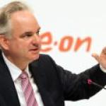 Глава E.ON сомневается, что Россия перекроет поставки газа в Европу