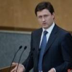 Новак подтвердил жесткую позицию России в отношении реэкспорта газа