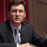 Новак не планирует присутствовать на сессии ОПЕК