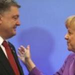 Порошенко и Меркель скорректировали позиции по газу и Донбассу