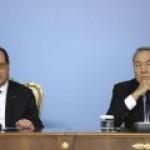 Назарбаев – Олланду: у России есть нефть, газ и все остальное
