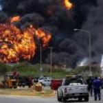 В Ливии бои – продолжает гореть нефть