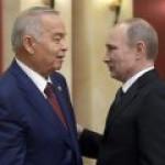 Путин и Каримов обсудят сотрудничество в нефтегазовой сфере