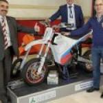 Россияне удивили разработкой отечественного электрического мотоцикла