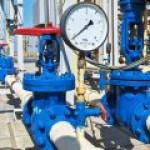 Добыча газа на крупнейших залежах Европы упала вдвое