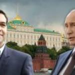 """В пятницу Путин обсудит """"Турецкий поток"""" с Ципрасом"""