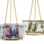 Курс рубля к доллару впервые за две недели опустился ниже 65 рублей