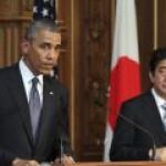 Обама узнал, что Путина пригласят в Японию
