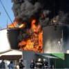 Нефтебазе под Киевом угрожает новый взрыв