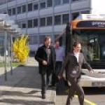По Берлину будут ходить электробусы с бесконтактной подзарядкой