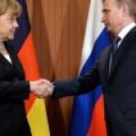 """Путин и Меркель вновь договорились по проекту """"Северный поток-2"""""""