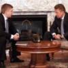 """Главы """"Газпрома"""" и """"Нафтогаза"""" наконец-то встретились в Минске, но ни о чем не договорились"""
