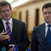 """Новак и Шефчович обсудили не только """"Северный поток-2"""""""
